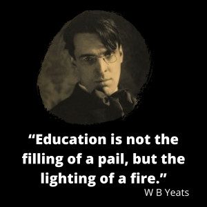 W B Yeats on education