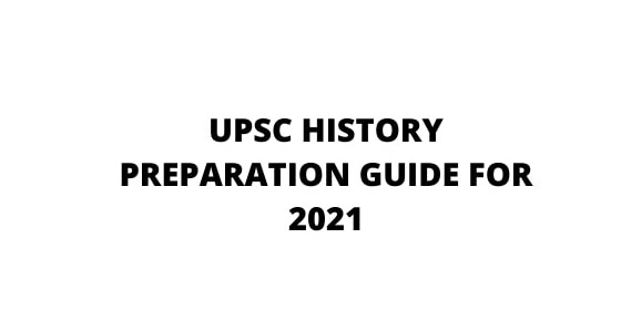study of history for upsc